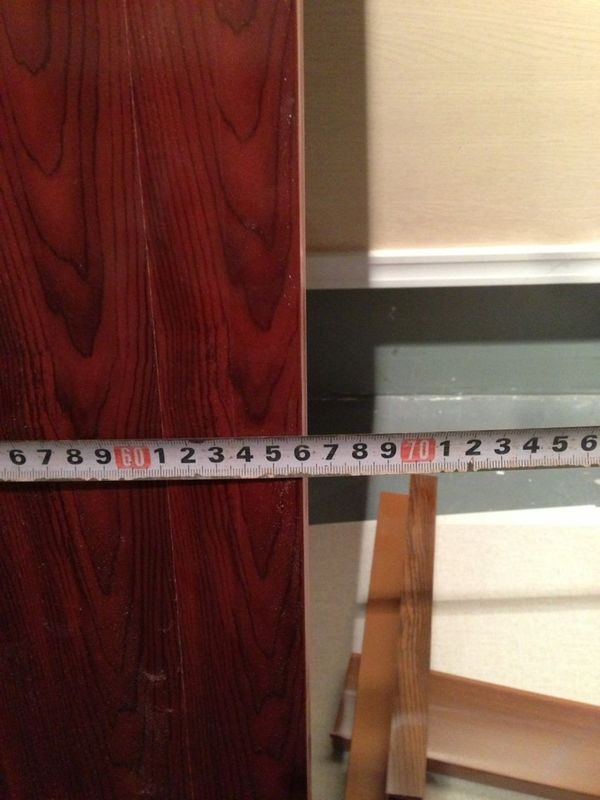 Feuchtigkeitsfeste Stärke des Toilette PVC-Badezimmer-Tür-Platten ...