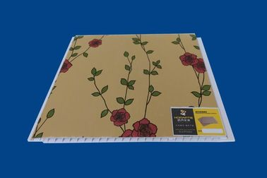 China Künstlerische Innen-PVC-Wand-Luxusblumen-Laminats-Wand-Blätter distributeur